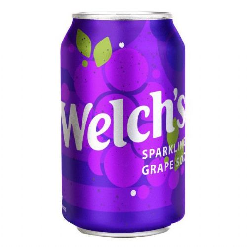 Welch Sparkling Grape Soda 355ml